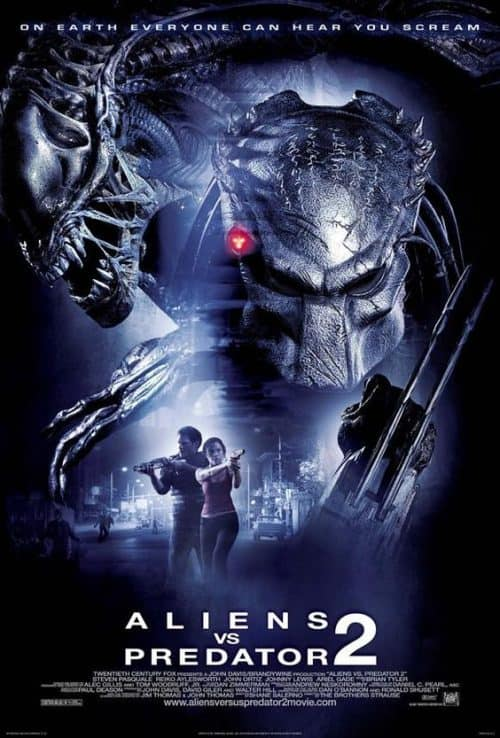 Aliens vs Predators 2 Key Art Movie Poster