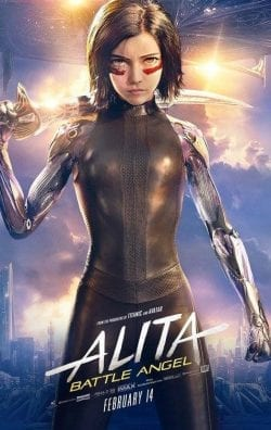 Alita Battle Angel Key Art Movie Poster