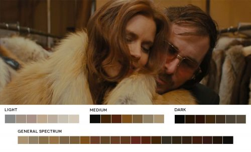Color Theory – Analogous – American Hustle