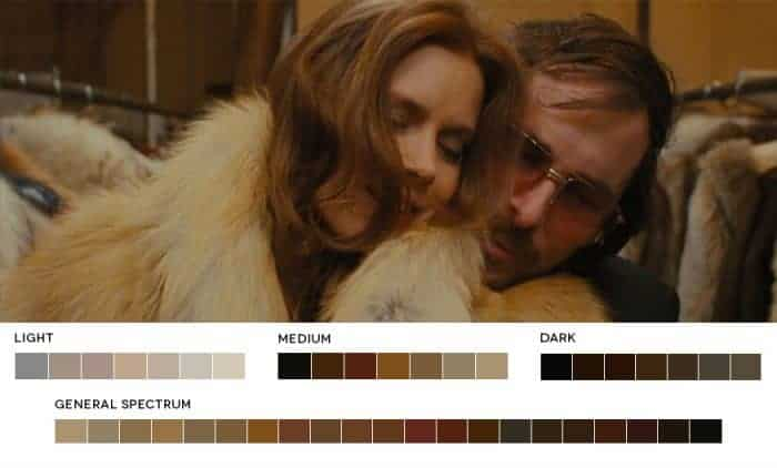 Color Theory – Analogous – American Hustle