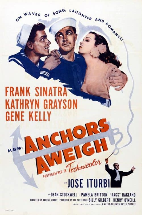 Anchors Aweigh Key Art Movie Poster