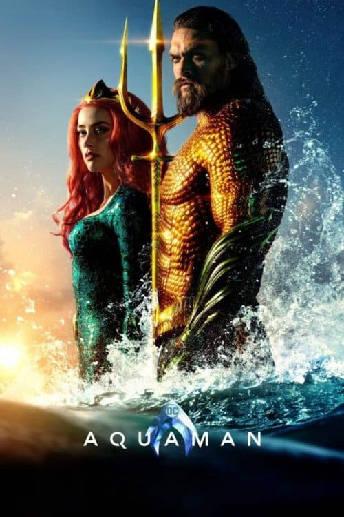 Aquaman Key Art Movie Poster