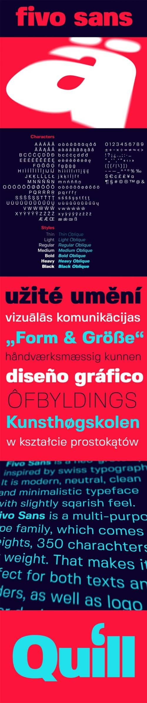 Download the Fivo Sans Typeface