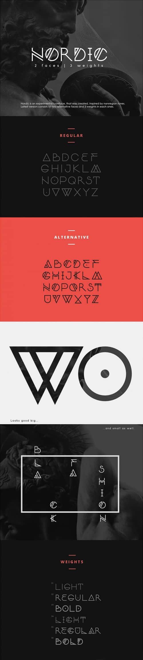 Download the Nordic-Typeface
