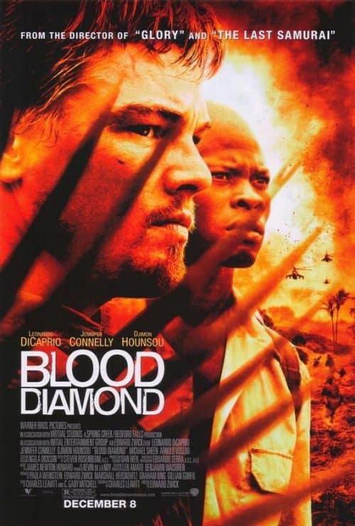 Blood Diamond Key Art Movie Poster