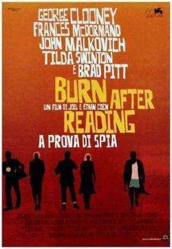 Burn After Reading Key Art Movie Poster