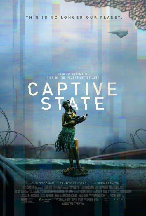 Captive State Key Art Movie Poster