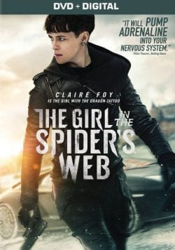 Claire Foy The Girl In The Spider's Web Key Art Movie Poster