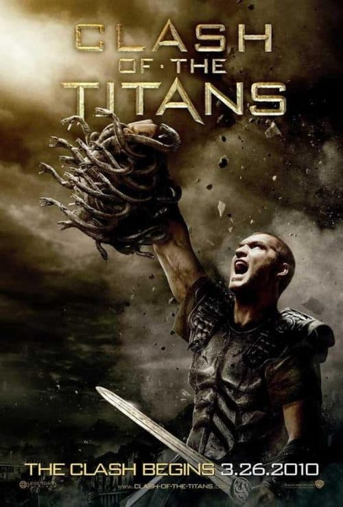 Clash of the Titans Key Art Movie Poster