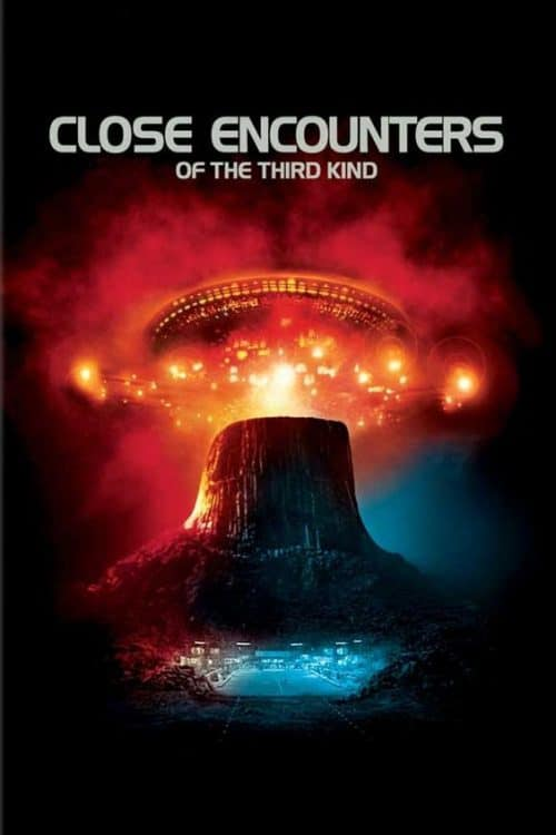 Close Encounters of The Third Kind Key Art Movie Poster
