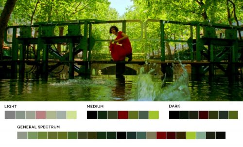 Color Theory – Complementary – Amelie