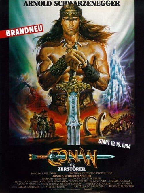 Conan Key Art Movie Poster