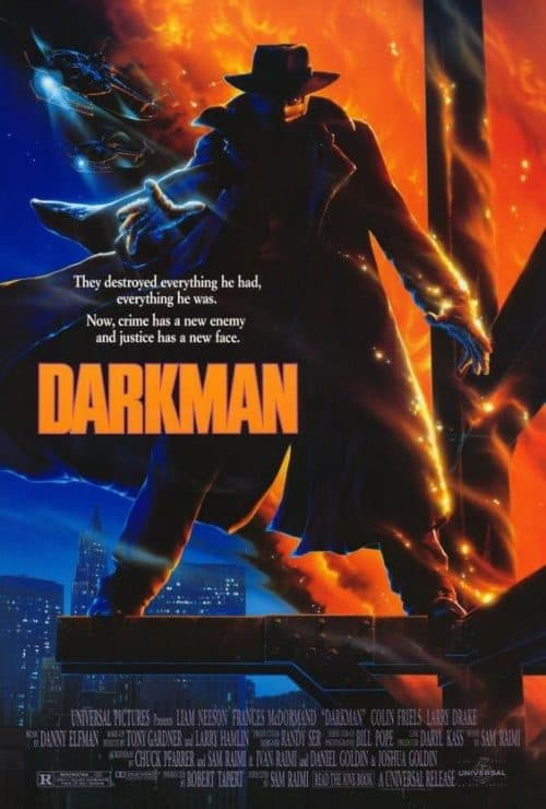 Darkman Key Art Movie Poster