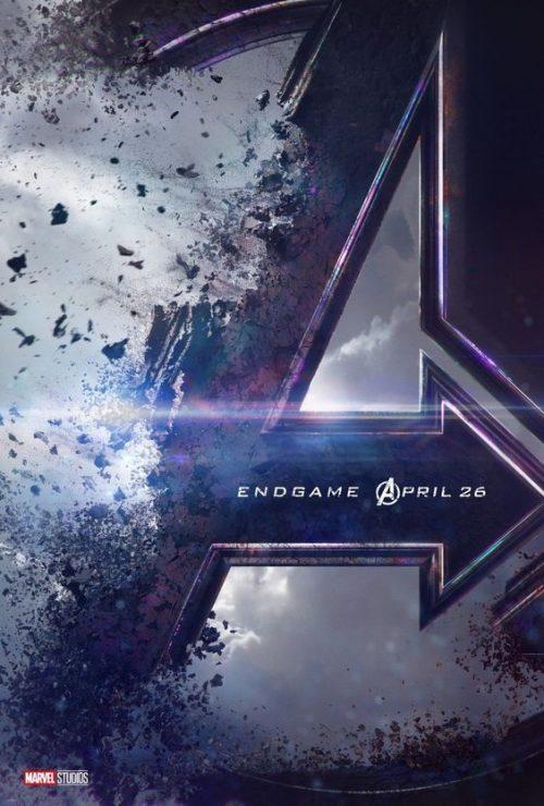 Disney Marvel Avengers End Game Key Art Movie Poster