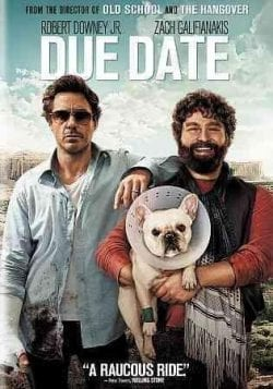 Due Date Key Art Movie Poster