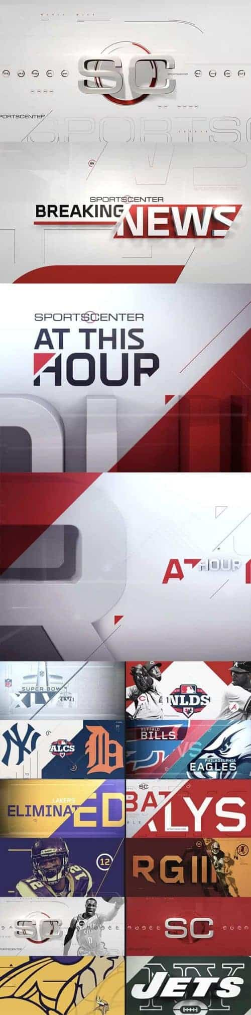 ESPN – Identity and Channel Branding Frames