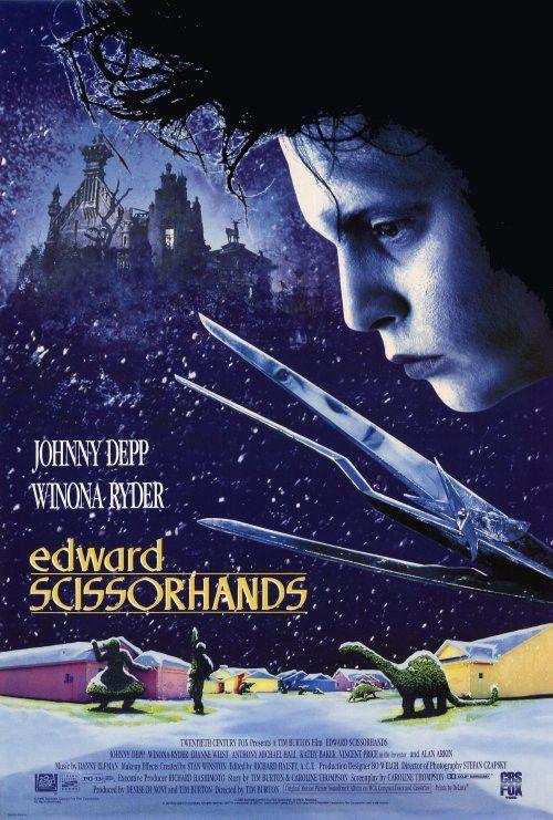 Edward Scissorhands Key Art Movie Poster 01