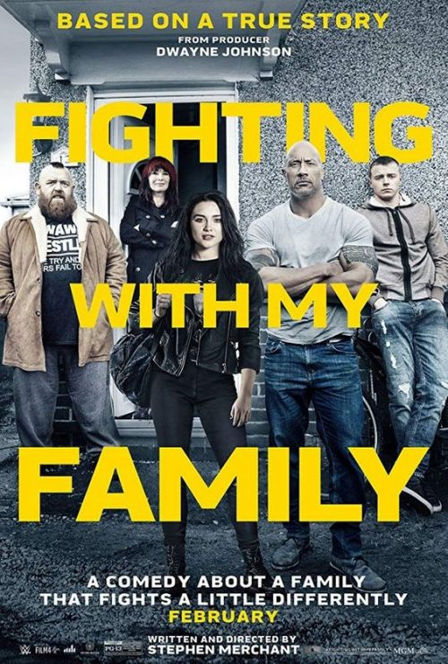 Fighting With My Famly Key Art Movie Poster