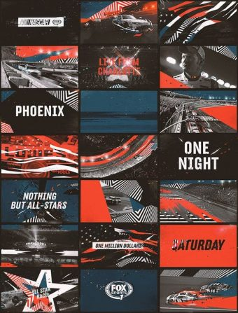 Fox-Sports-Nascar – Identity and Channel Branding Frames