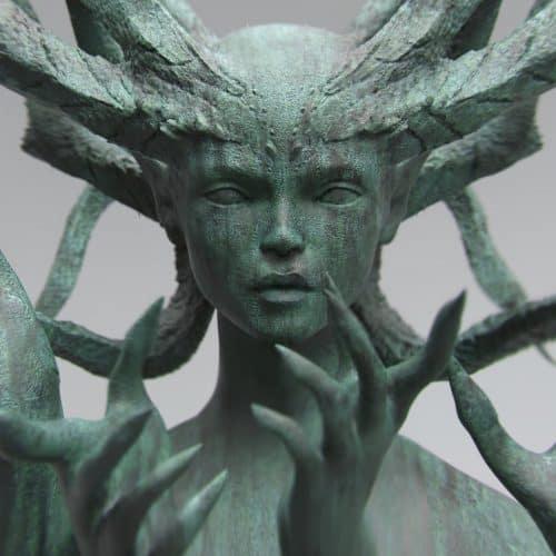 Concept Art – Furio-Tedeschi – zBrush – Witch