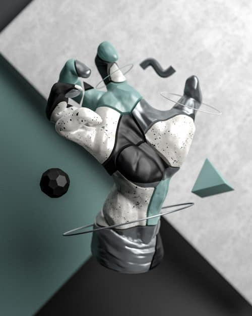 3D – Design – GESTURES – Ryan Hawthorne