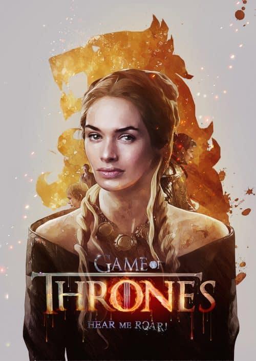 Game Of Thrones Key Art