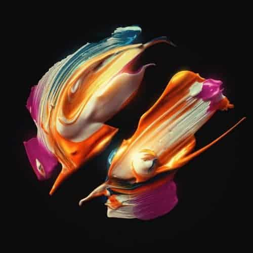 Graphic Design – Design Trends – Paint Strokes