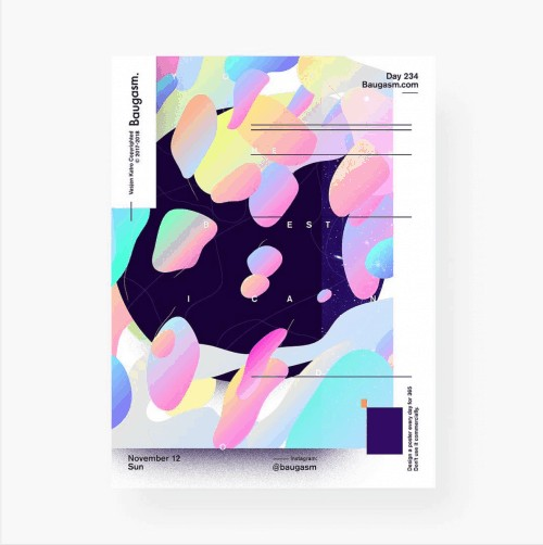 Graphic Design – Design Trends – Abstract Patterns