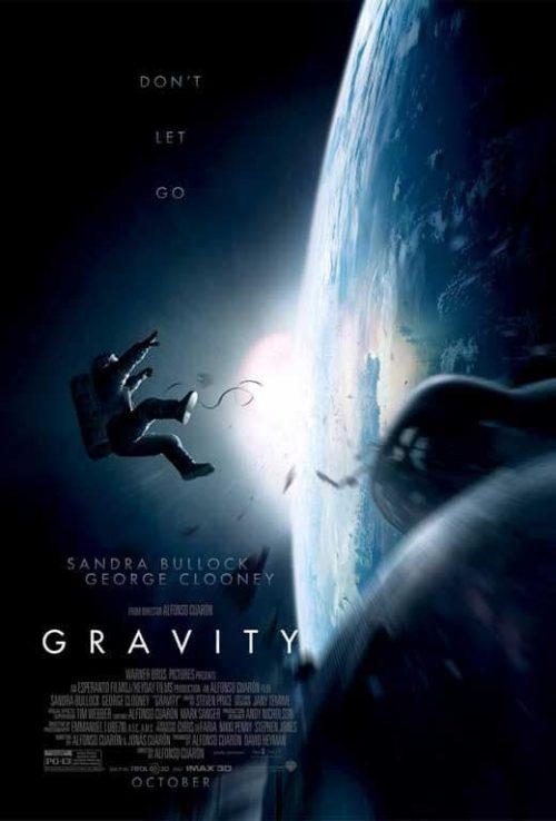 Gravity Key Art Movie Poster