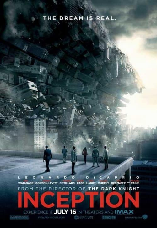 Inception Key Art Movie Poster 02