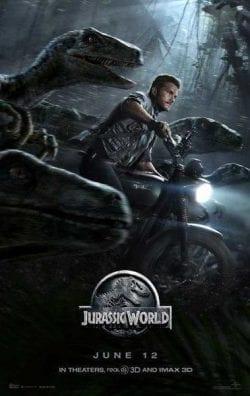 Jurassic World Key Art Movie Poster