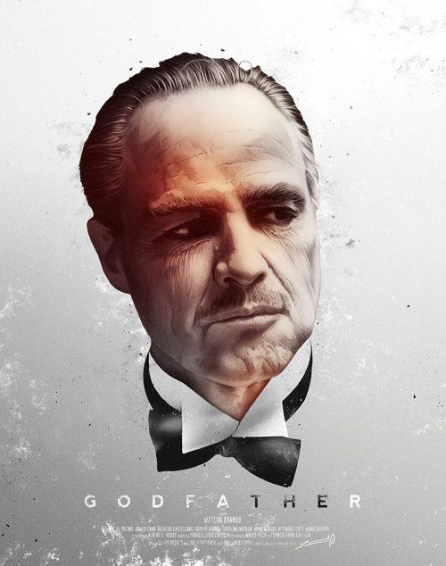 Levent Aydin Illustration Godfather