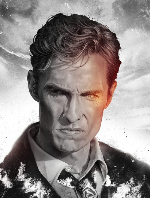Levent Aydin Illustration True Detective