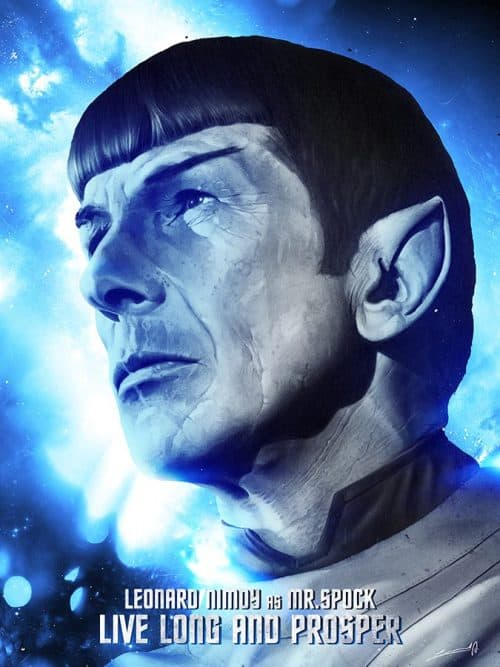 LeventAydin Illustration X MR Spock