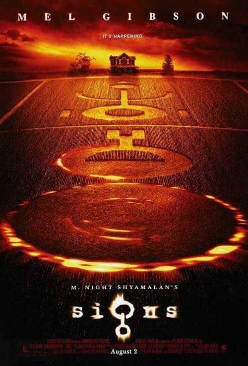 M. Night Shyamalan's Signs Key Art Movie Poster
