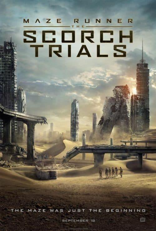 Maze Runner 2 Scorch Trials Key Art Movie Poster