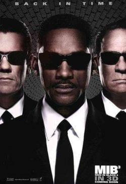 Men in Black 3 MIB Back in Time Will Smith Movie Poster Key Art