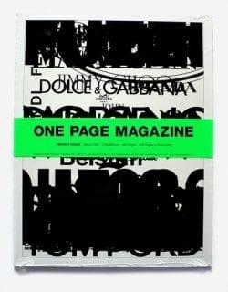 One Page Magazine