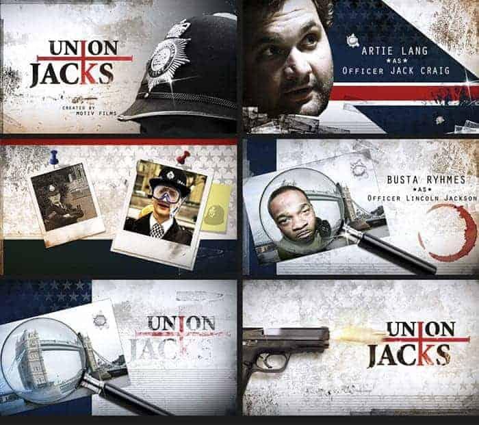 Peter W Crandall – Union Jacks