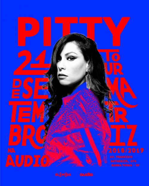 Graphic Design – Juarez Tanure – Pitty Audio