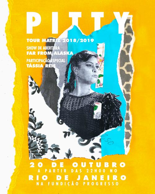Graphic Design – Juarez Tanure – Pitty Fundição