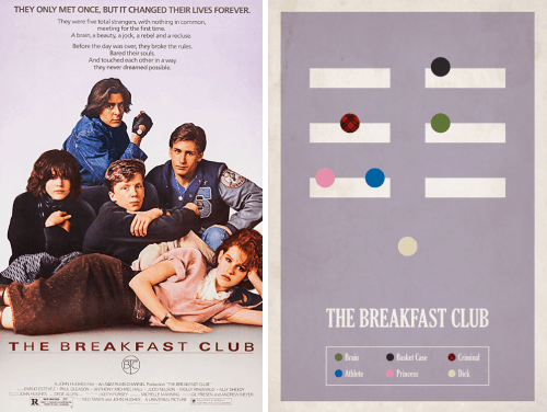 Redesigned-Movie-Posters-to-Inspire-your-Creativity-The-Breakfast-Club