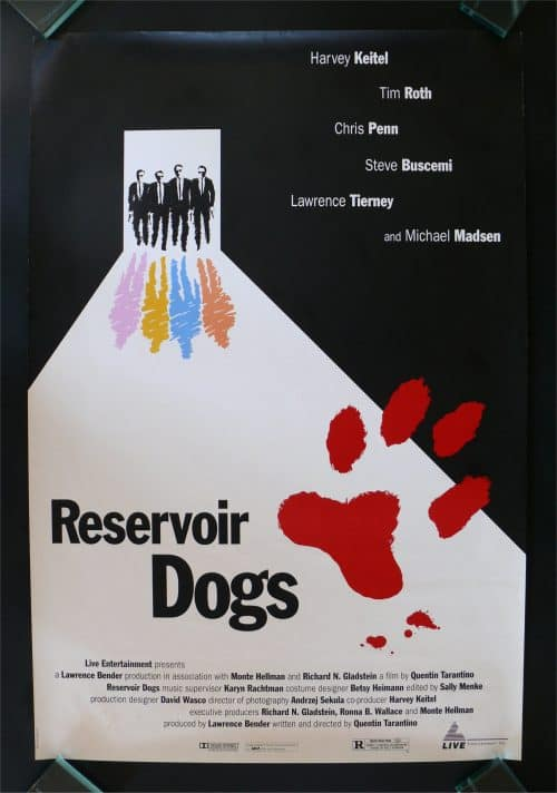 Reservoir Dogs Key Art