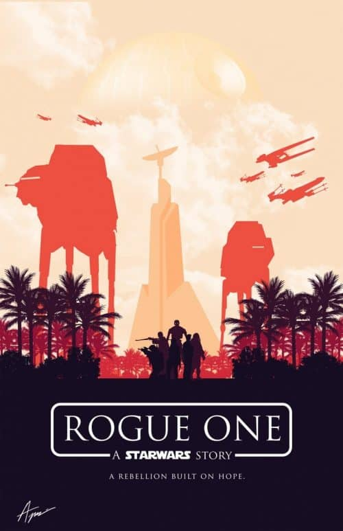 Rogue One Minimalist Poster