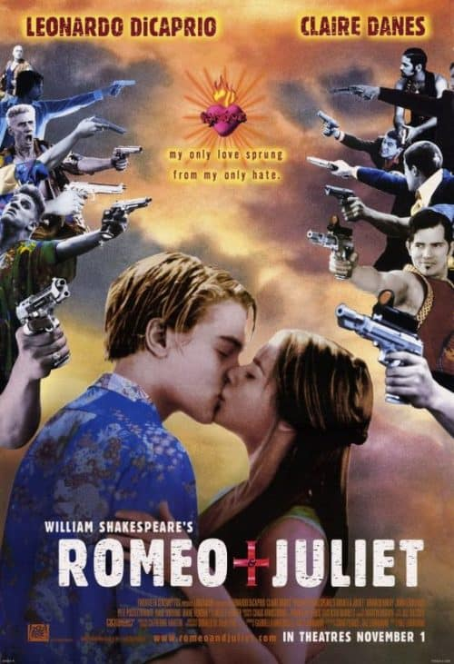 Romeo and Juliet Key Art Movie Poster