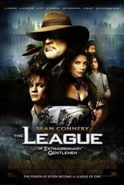 Sean Connery The League Key Art Movie Poster