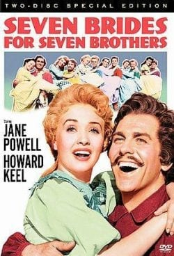 Seven Brides for Seven Brothers Key Art Movie Poster