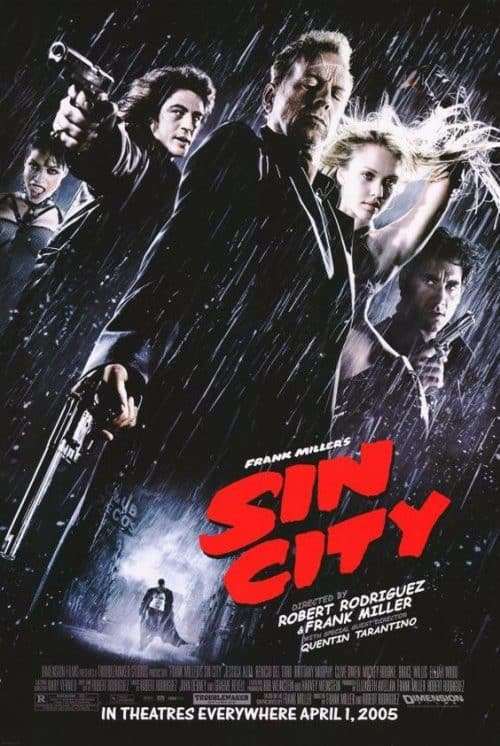Sin City Key Art Movie Poster