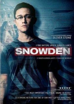 Snowden Key Art Movie Poster