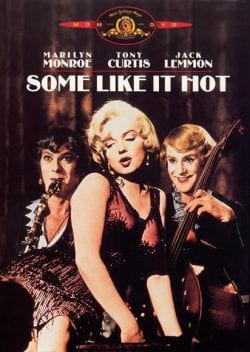 Some Like It Hot Key Art Movie Poster